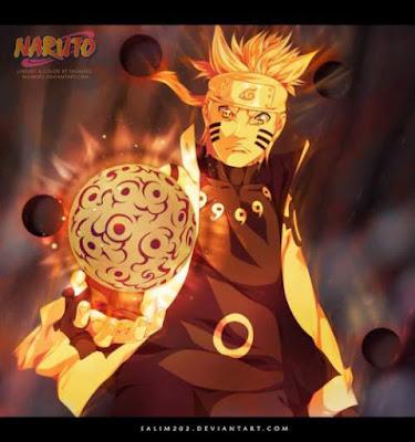 Bijuu dama Naruto