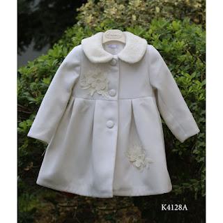 greek baptismal white coat for girls