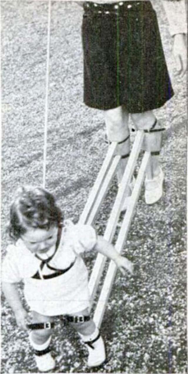 A gyereknevelést a két világháború közt fura eszközökkel tették volna könnyebbé 5