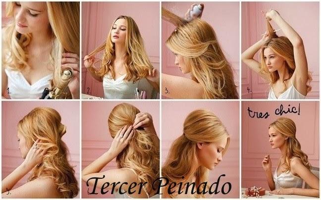 peinados de fiesta faciles de hacer pelo suelto