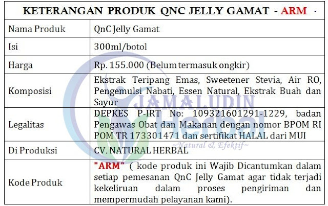 http://pengobatanmultikhasiat30.blogspot.co.id/p/cara-order-qnc-jelly-gamat.html