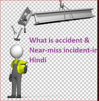 What is accident & Near-miss incident?-in Hindi