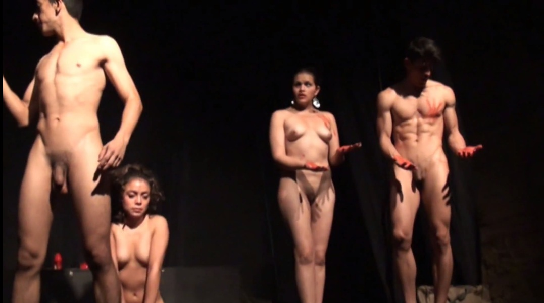 Nude Stage Video