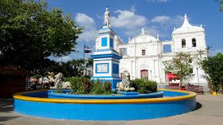 Famous church Leon Nicaragua