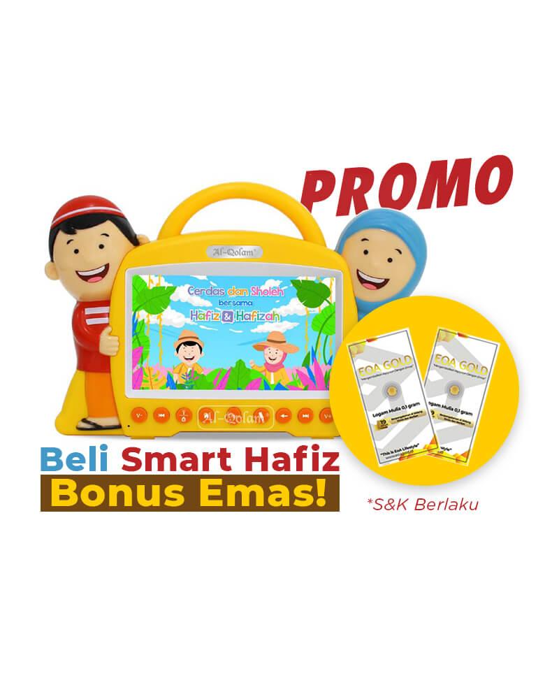 Promo Beli Smart Hafiz Bonus Emas