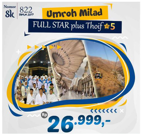 umrah milad plus thaif full star