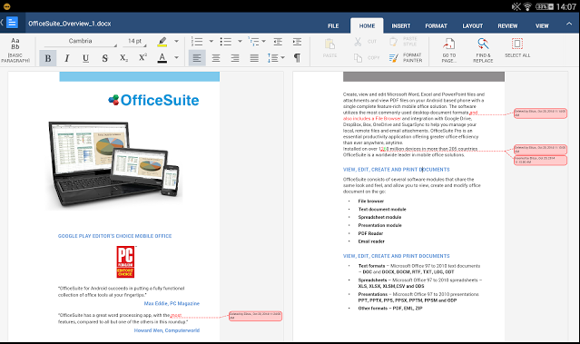 OfficeSuite Pro 8 + PDF Full Version