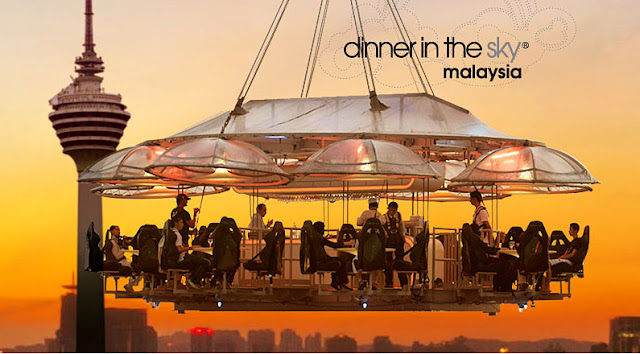 dinner in the sky Malaysia