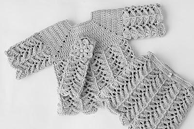 6 -Crochet IMAGEN Pantalón a juego con chambrita a crochet muy fácil y rápida. MAJOVEL CROCHET