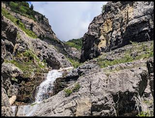 Top part of Lost Creek Falls Provo