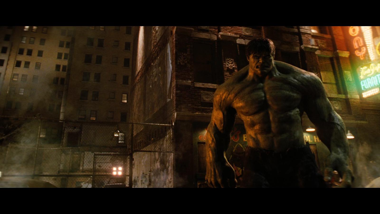 Hulk: El hombre increíble (2008) BRRip Full HD 1080p Latino-Ingles captura 4