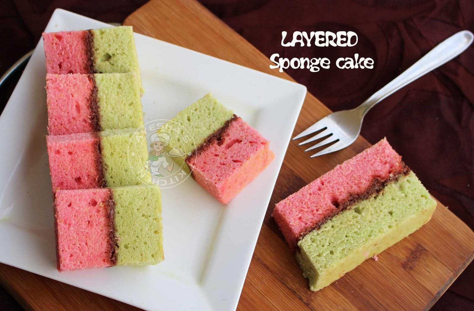 Sponge Cake Recipe Using Oil Instead Of Butter