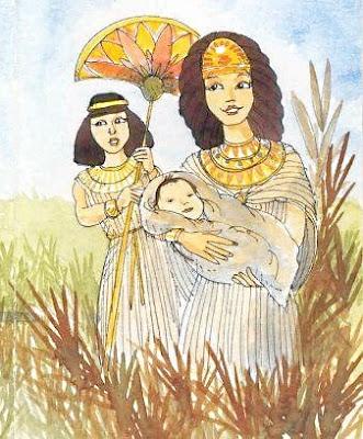 La figlia di Faraone tiene per se il piccolo
