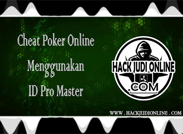 Cheat Poker Online Menggunakan ID Pro Master