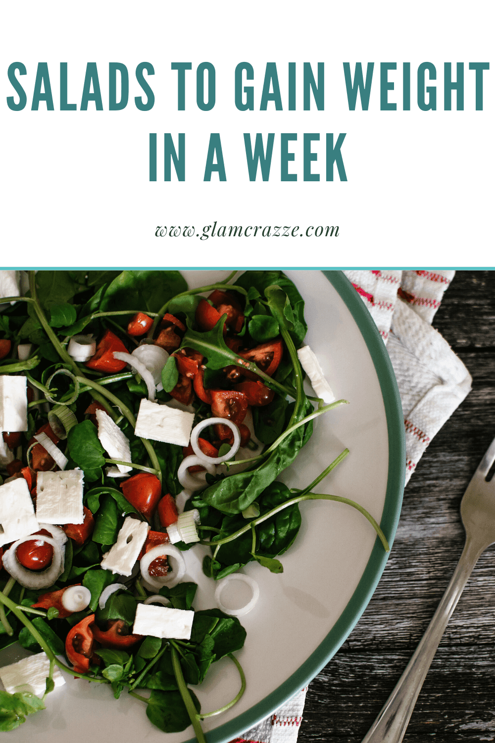 How to gain weight in a week while having salads
