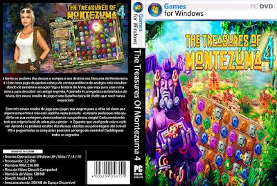 Jogo The Treasures Of Montezuma 4 PC DVD Capa