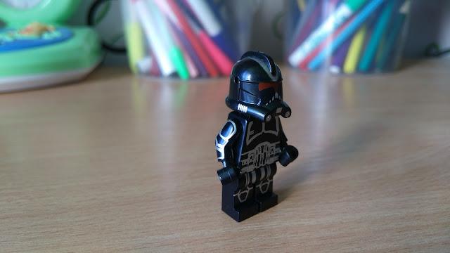 Чёрный клон тень фигурка лего Звездные войны купить
