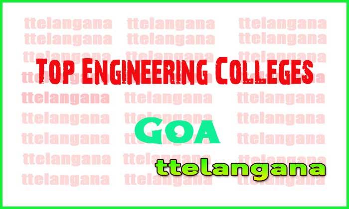Top Engineering Colleges in Goa