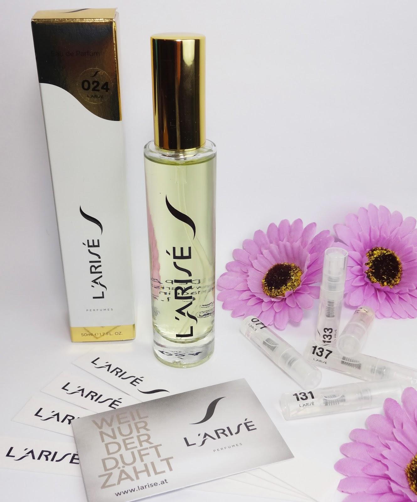 Parfum von L'ARISÉ Nr. 024  Pretty Clover Beautyblog Roberto Cavalli - Just Cavalli Her