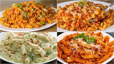 4 Pasta Easy Recipes In Urdu