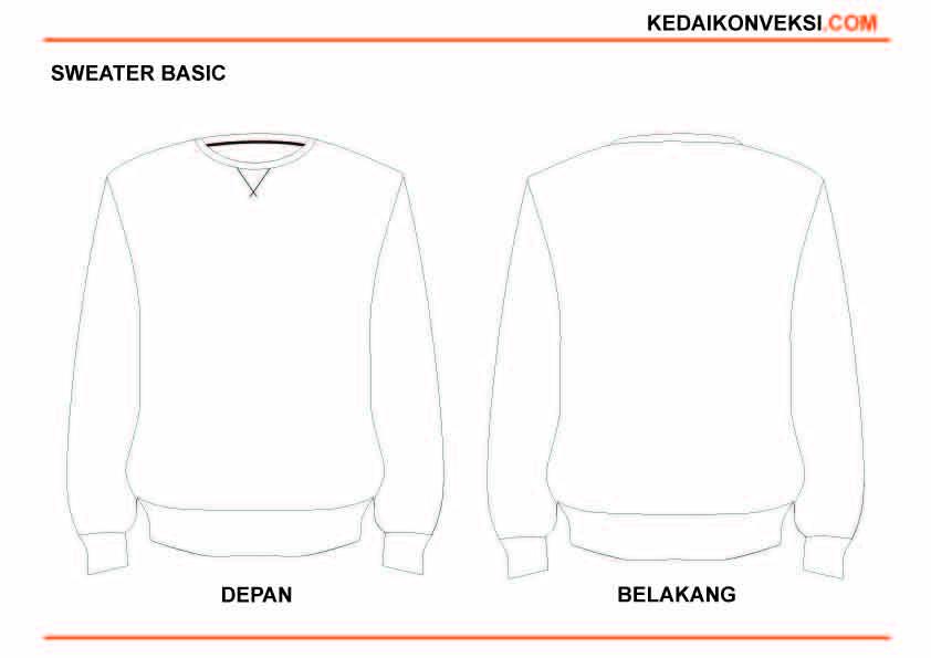 Berikut Desain Sweater Polos Sablon Kaos Sablon Kaos
