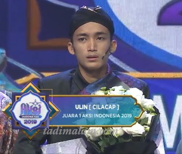 Ulin juara AKSI indosiar 2019