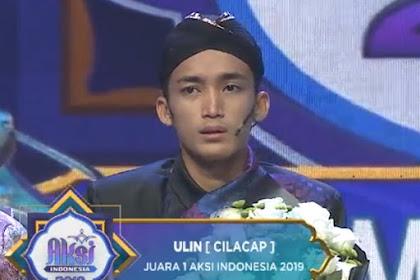 Ulin Mahasiswa UNU Menjadi Juara Pemenang Aksi Indosiar 2019