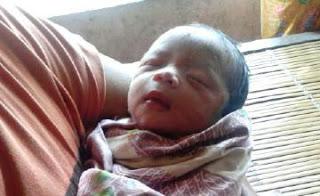 Warga Montong Baan Digegerkan Penemuan Bayi