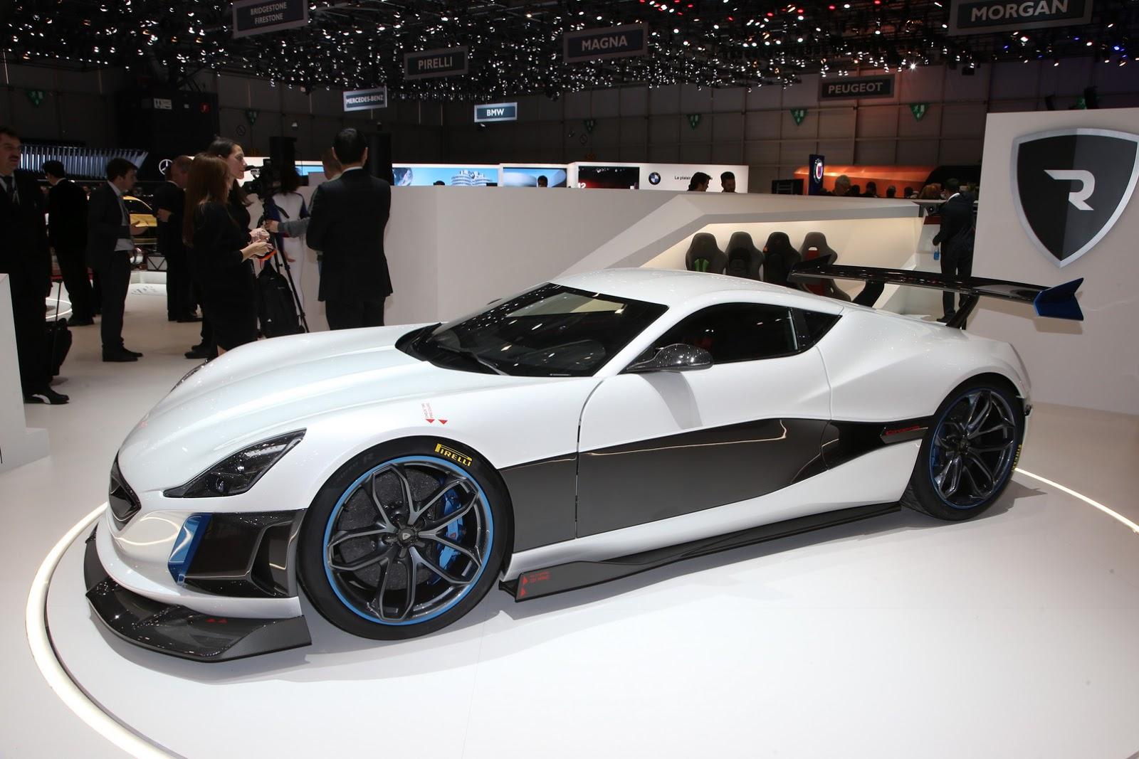 Rimac Concept S thực sự không thua kém bất cứ siêu xe nào tại Geneva Motor Show 2016