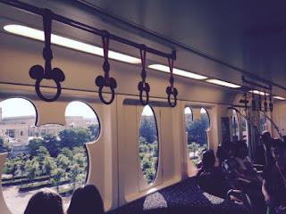 Disney tram