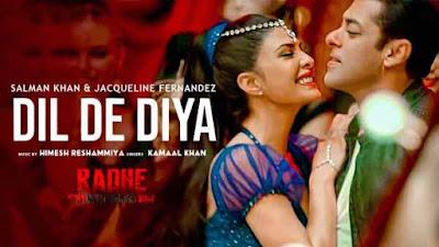 Dil De Diya Lyrics - Radhe | Kamaal Khan | Payal Dev