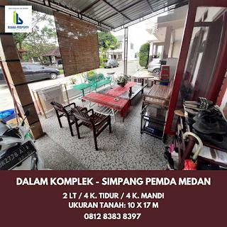 Jual Rumah second cantik mulus dan terawat dalam komplek Taman Asoka Asri di Jl. Flamboyan Simpang Pemda Medan