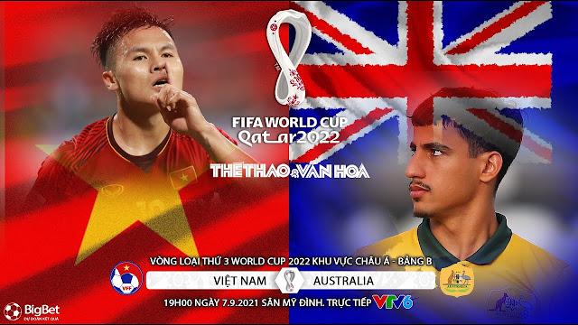 TRỰC TIẾP | VIỆT NAM VS ÚC | VÒNG LOẠI WORLD CUP 2022