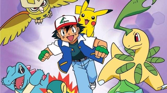 Pokémon segunda generación capturados por Ash
