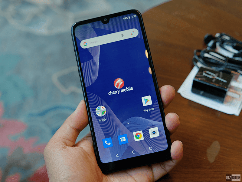 Cherry Mobile Flare Y7 LTE comes with glass back and tiny notch for less