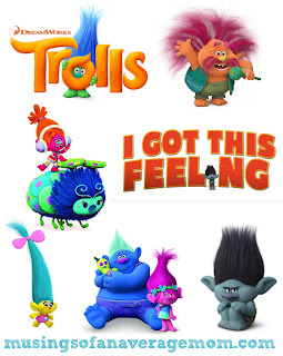 trolls characters for scrapbooking