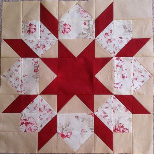 Swoon Sixteen Block - Quilt Tutorial