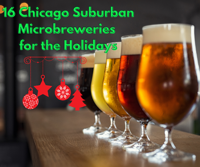 16 Chicago Suburban Craft Breweries to Support for the Holidays