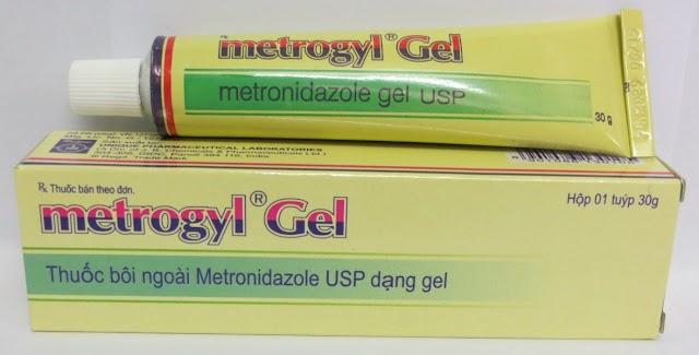 Thuốc Metrogyl Gel bôi ngoài