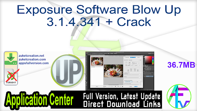 Exposure Software Blow Up 3.1.4.341 + Crack