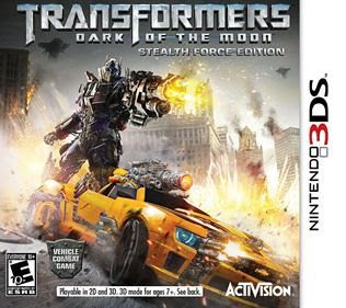 Transformers Dark of the Moon Stealth Force Edition, 3DS, Español