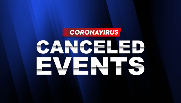 pembatalan acara akibat pandemi covid-19 coronavirus