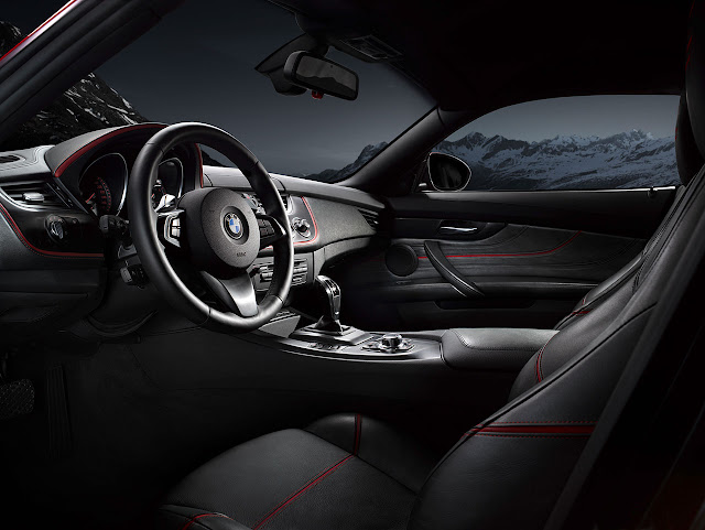 BMW Zagato Coupé interior