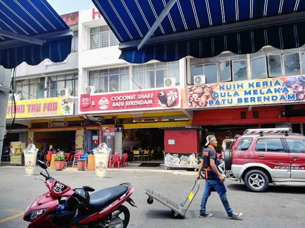 Coconut Shake Batu Berendam, Melaka