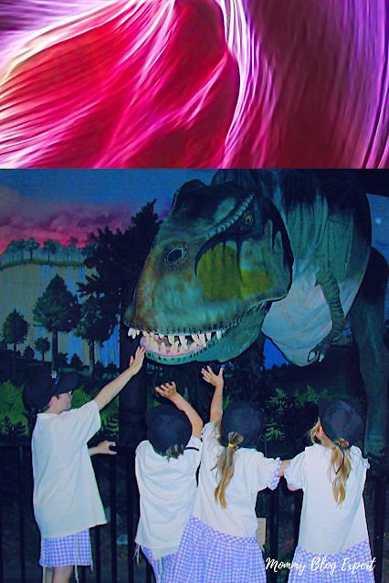 Kids at Dinosaur Museum