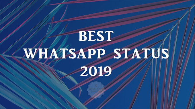 Best Whatsapp Status 2019 | Whatsapp Status Online
