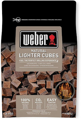 Weber natural lighter cubes for BBQ