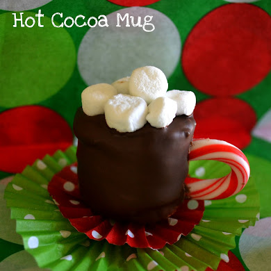 DIY Edible Hot Cocoa Mug Mini-Desserts