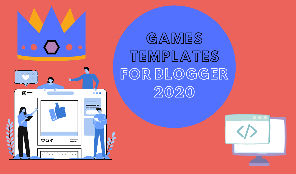 12 Best Free Responsive Top Hot Games Blogger Templates 2020