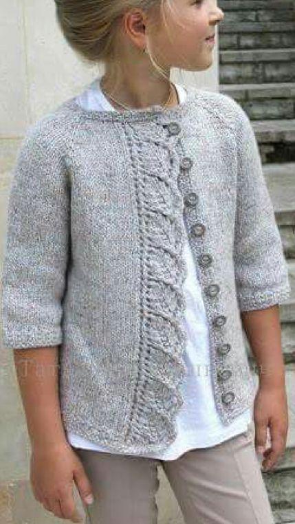 wzory sweterków dla dziewczynek